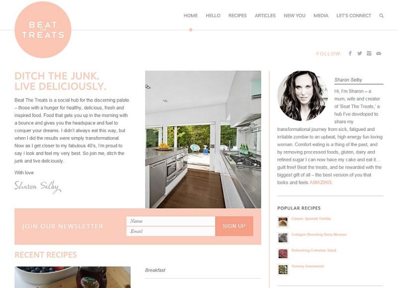 Website Design - Beat The Treats