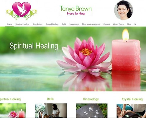 Website Design - Tanya Brown