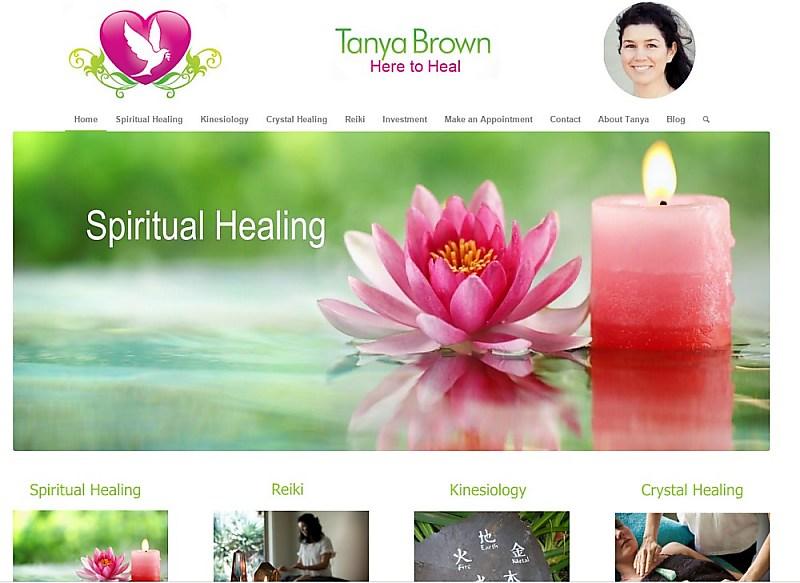 Website Design - Tanya Brown