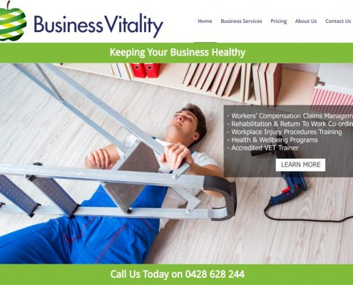 Website Design - Business Vitality