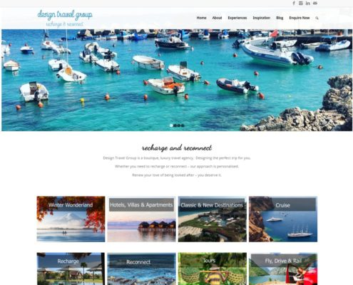 Website Design - Design Travel Group