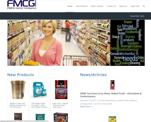 Website Design - FMCGI