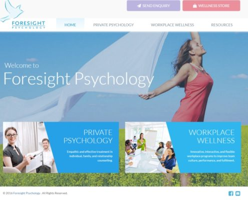 Website Design - Foresight Psychology