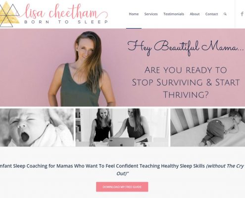 Website Design - Lisa Cheetham