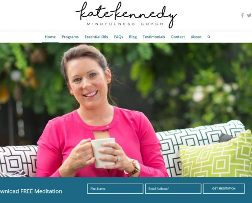 Website Design - Kate Kennedy