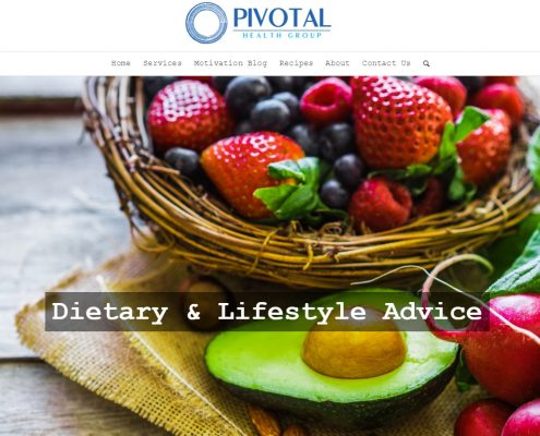 Website Design - Pivotal Health Group