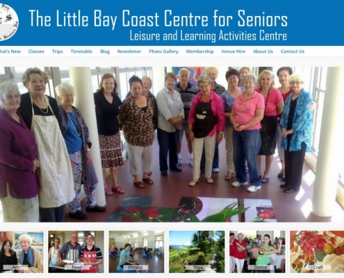 Website Design - The Little Bay Coast Centre