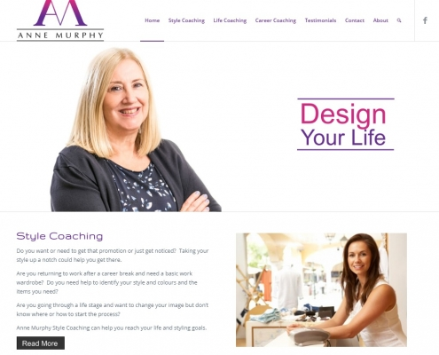 Website Design - Anne Murphy