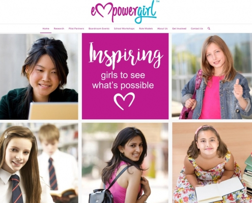 Website Design - Empower Girl
