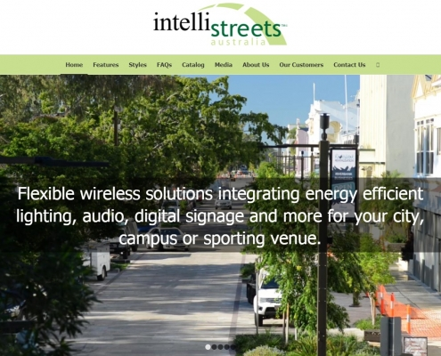 Website Design - Intellistreets