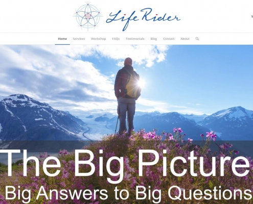 Website Design - Life Rider