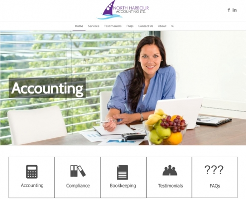 Website Design - North Harbour Accounting