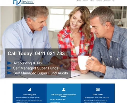 Website Design - PDL Financial Services