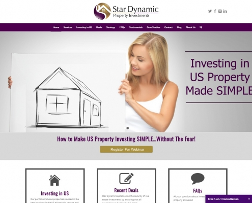 Website Design - Star Dynamic
