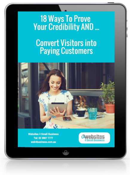 18 Ways to Prove Your Credibility and Convert Visitors into Paying Customers