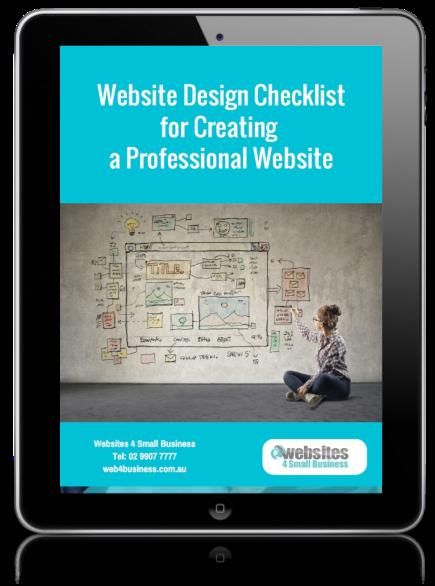 Website Design Checklist for Creating a Professional Website
