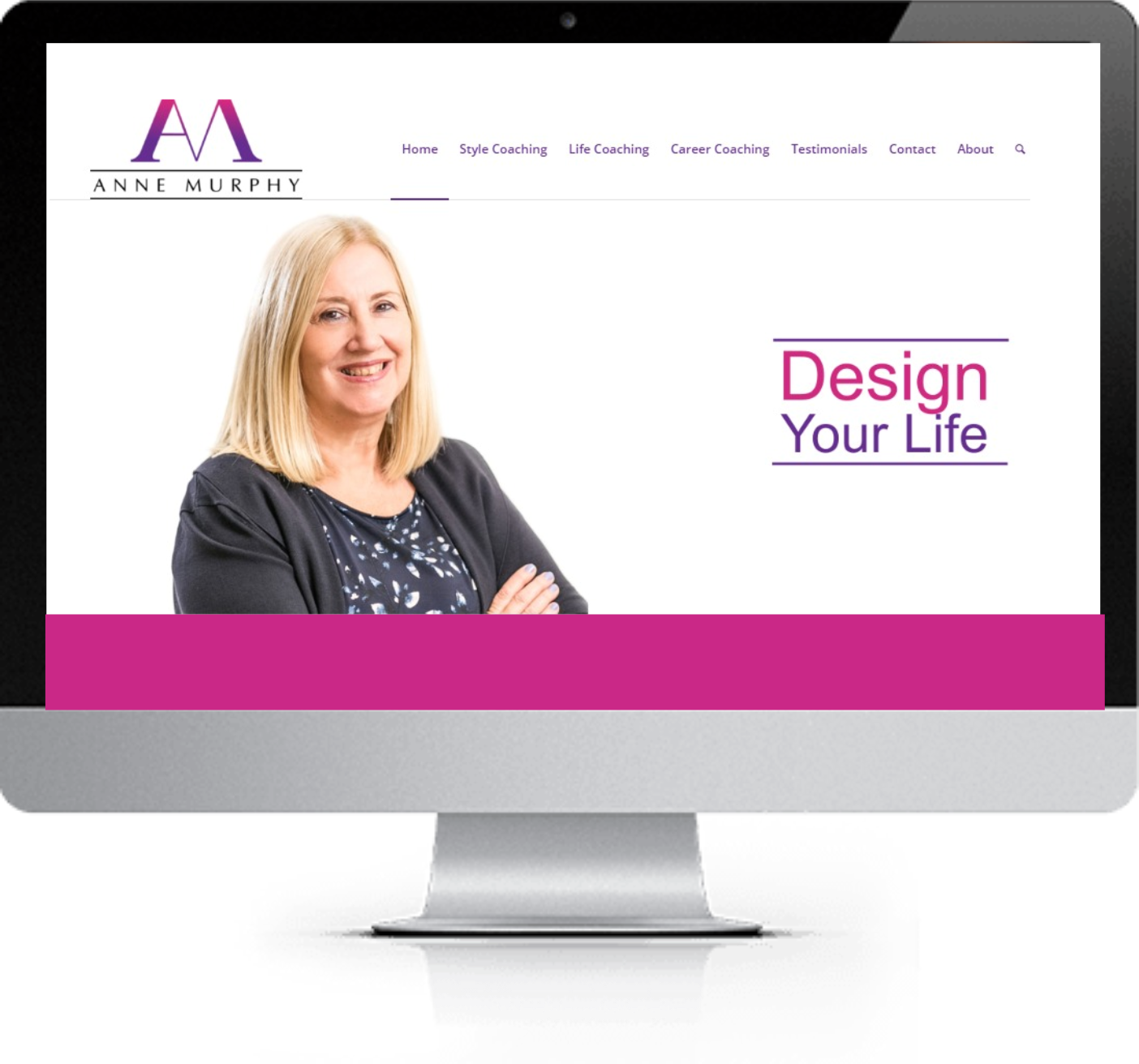 Website Redesign - Anne Murphy - After