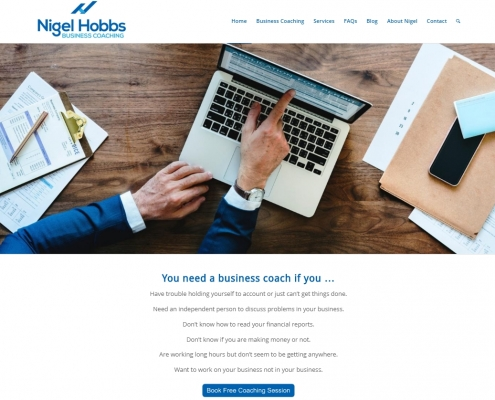 Website Design - Hobbs Coaching