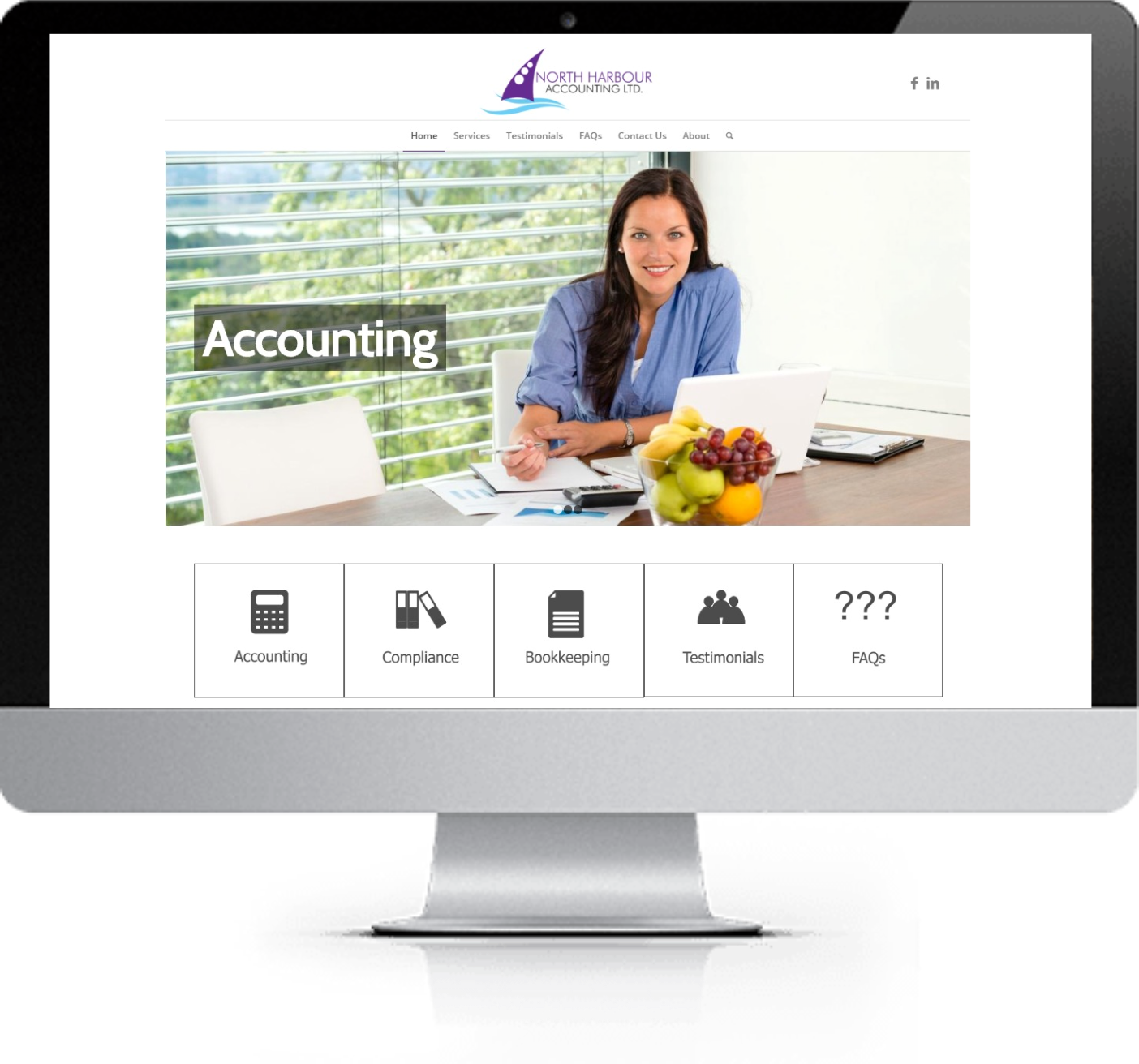 Website Redesign - NH Accounting- After