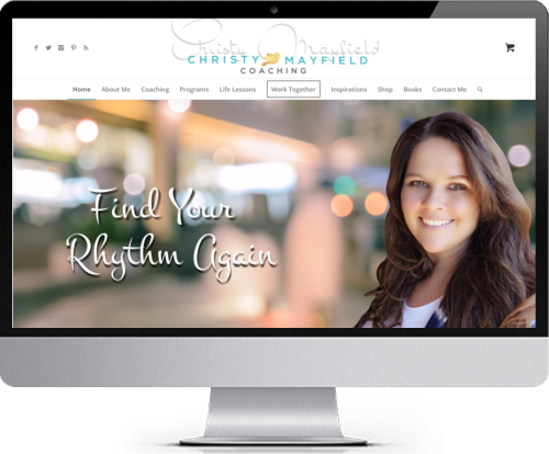 Website Design - Christy Mayfield