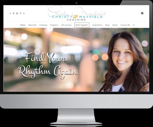 Website Design - Christy Mayfield