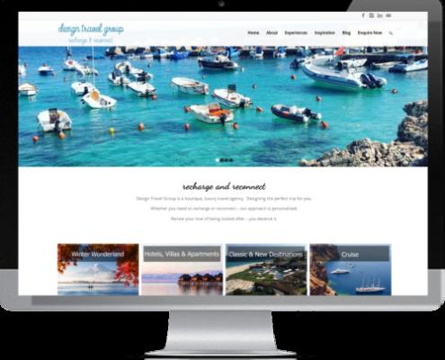 Website Design - Design Travel Group