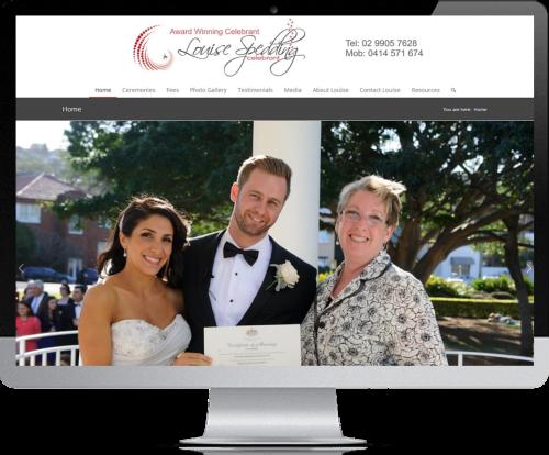 Website Design - Louise Spedding