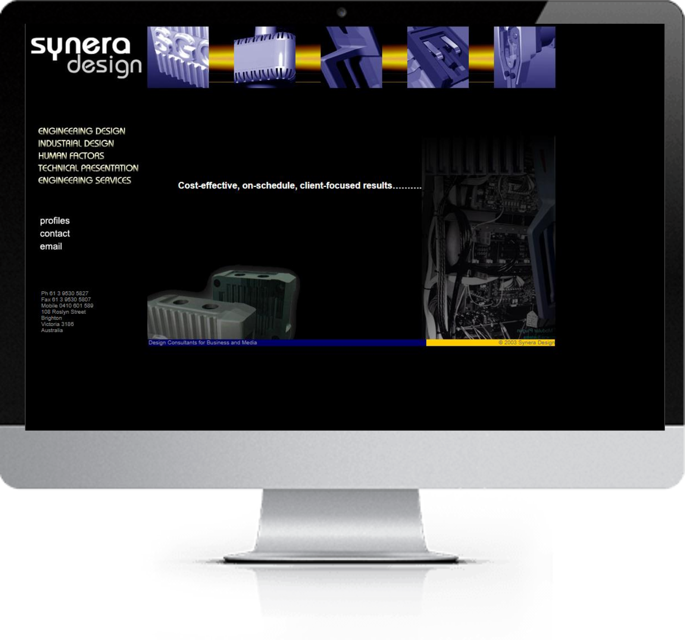 Website Redesign - Synera-Website-Design-Before