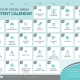 30 days of social media content calendar