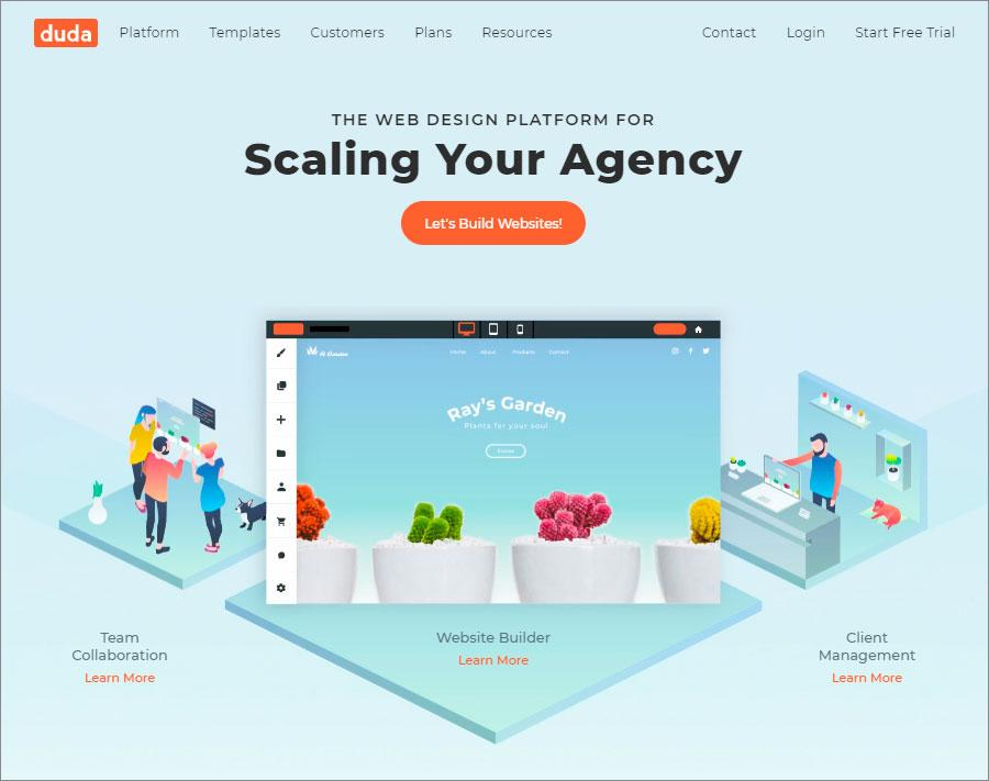 Duda Website Builder